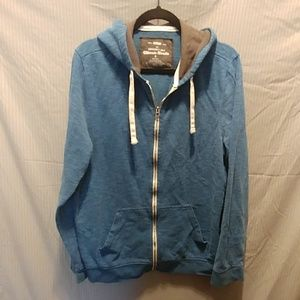 Urban Pipeline XL turquoise and gray zip up hoodie